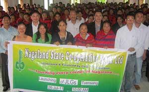 NStCB launch JLG scheme at Tuensang